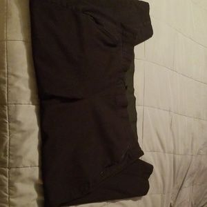 Lane Bryant black ankle pant size 20